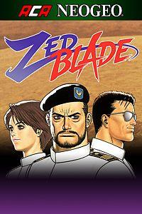 Carátula para el juego ACA NEOGEO ZED BLADE de Xbox 360