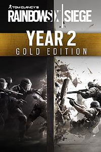Carátula del juego Tom Clancy's Rainbow Six Siege Year 2 Gold Edition de Xbox One