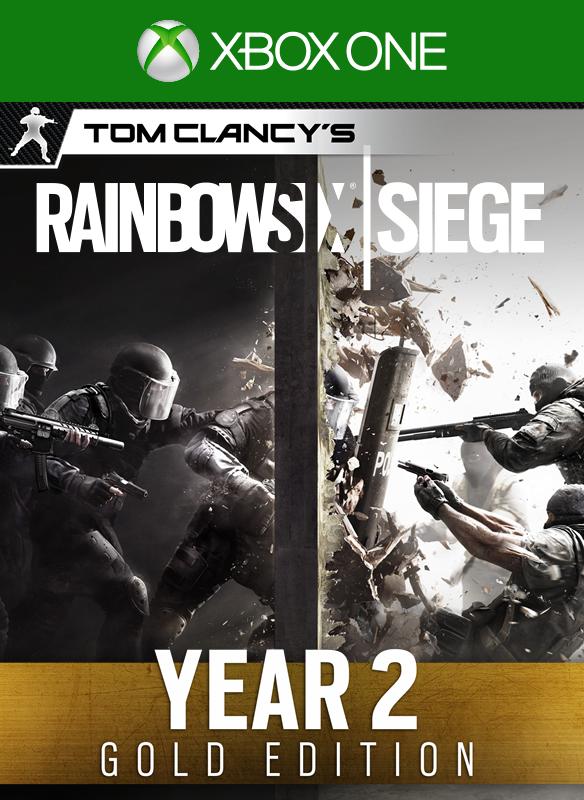 Tom Clancy's Rainbow Six Siege Year 2 Gold Edition boxshot