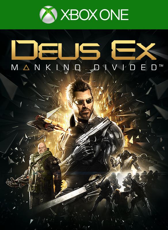 Deus Ex: Mankind Divided Standard boxshot