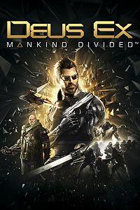 Carátula para el juego Deus Ex: Mankind Divided de Xbox 360