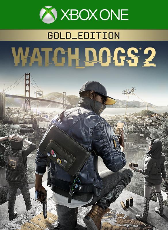 Watch Dogs 2 - Gold Edition boxshot