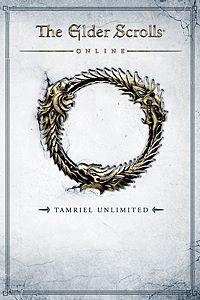 Carátula para el juego The Elder Scrolls Online: Tamriel Unlimited de Xbox 360