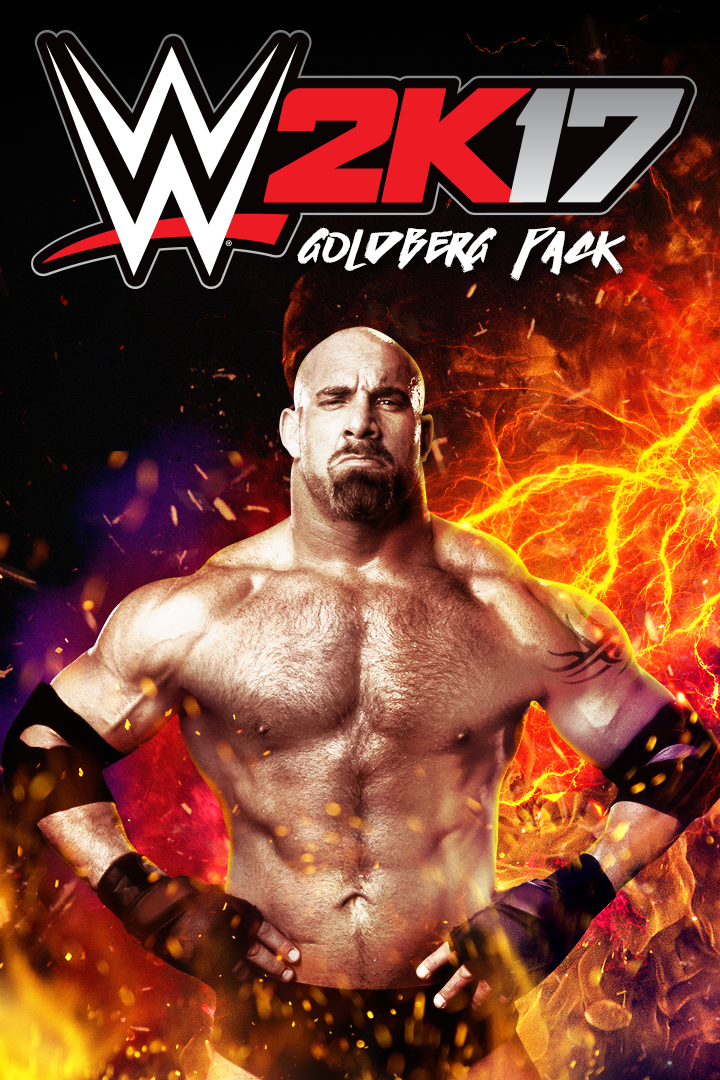 WWE 2K17 Goldberg Pack boxshot