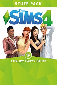 Carátula del juego The Sims 4 Luxury Party Stuff