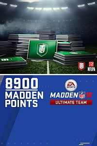 8.900 Pontos do Madden NFL 18 Ultimate Team