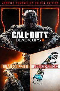 Carátula para el juego Call of Duty: Black Ops III - Zombies Deluxe de Xbox 360