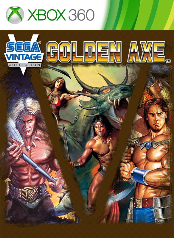 Sega Vintage Collection: Golden Axe boxshot
