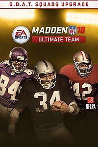 Carátula del juego Madden NFL 18 G.O.A.T. Squads Upgrade para Xbox One