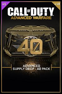 Carátula del juego Advanced Supply Drop Bundle - 40 Pack