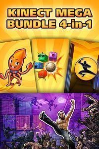 Carátula del juego Kinect Mega Bundle: 4 in 1 de Xbox One