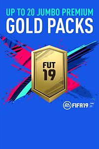 Carátula del juego Up to 20 Jumbo Premium Gold FUT Packs