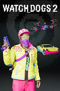 Carátula del juego Watch Dogs2 - GLOW_PRO PACK