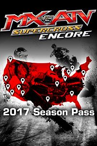 Carátula del juego 2017 Official Supercross Pack