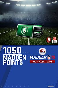 Carátula del juego 1050 Madden NFL 18 Ultimate Team Points