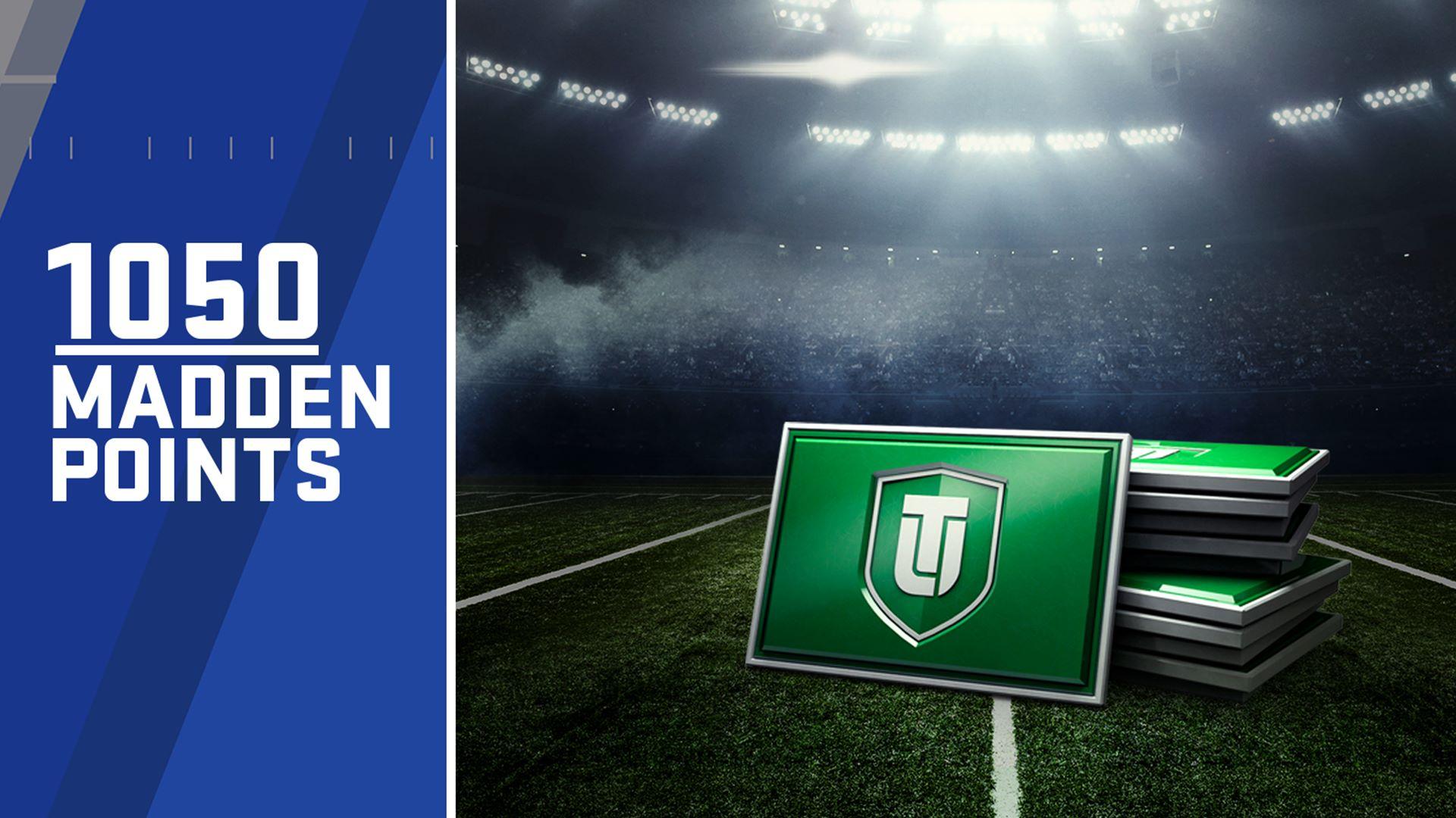 1.050 Pontos do Madden NFL 18 Ultimate Team