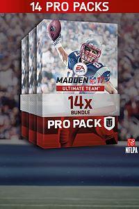 Carátula para el juego Madden NFL 17 14 Pro Pack Bundle de Xbox 360