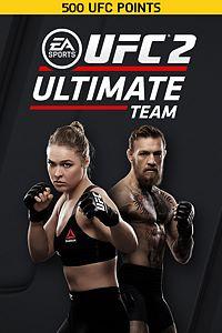 Carátula del juego EA SPORTS UFC 2 - 500 UFC POINTS