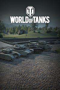 Carátula del juego World of Tanks - Team UK Center