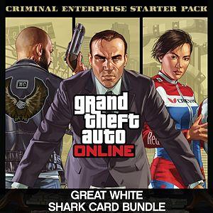 Criminal Enterprise Starter Pack and Great White Shark Card Bundle Xbox One