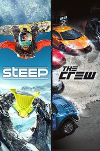Carátula del juego Steep and The Crew de Xbox One
