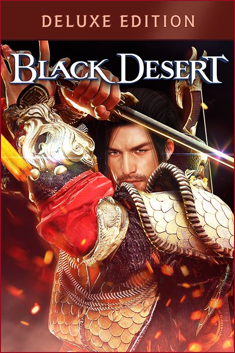 Black Desert - Deluxe Edition imagen de la caja
