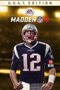 Carátula del juego Madden NFL 18 G.O.A.T Edition