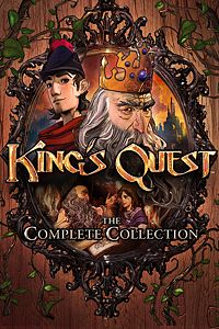 Carátula del juego King's Quest : The Complete Collection de Xbox One