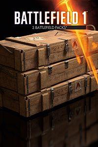 Carátula del juego Battlefield 1 Battlepacks x 3