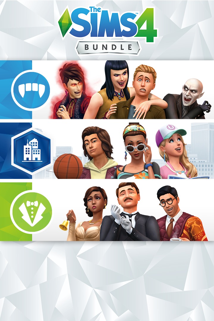 Buy The Sims 4 Bundle City Living Vampires Vintage Glamour