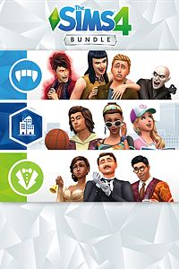 Carátula del juego The Sims 4 Bundle - City Living, Vampires, Vintage Glamour Stuff
