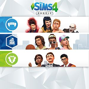 The Sims™ 4 Bundle - City Living, Vampires, Vintage Glamour Stuff Xbox One