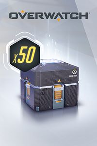 Carátula del juego Overwatch - 50 Anniversary Loot Boxes