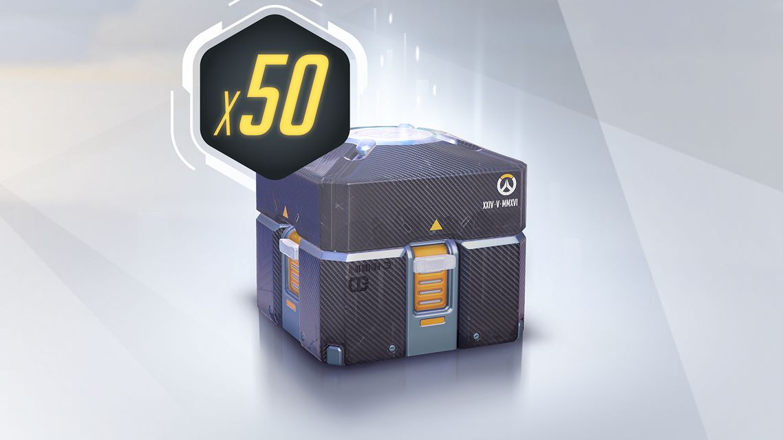 Overwatch - 50 Anniversary Loot Boxes on Xbox One