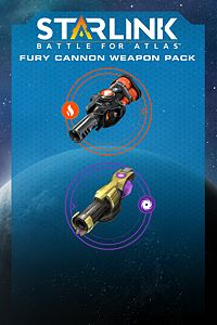 Carátula del juego Starlink: Battle for Atlas - Fury Cannon Weapon Pack
