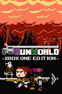 Carátula para el juego GunWorld: Xbox One Edition de Xbox 360