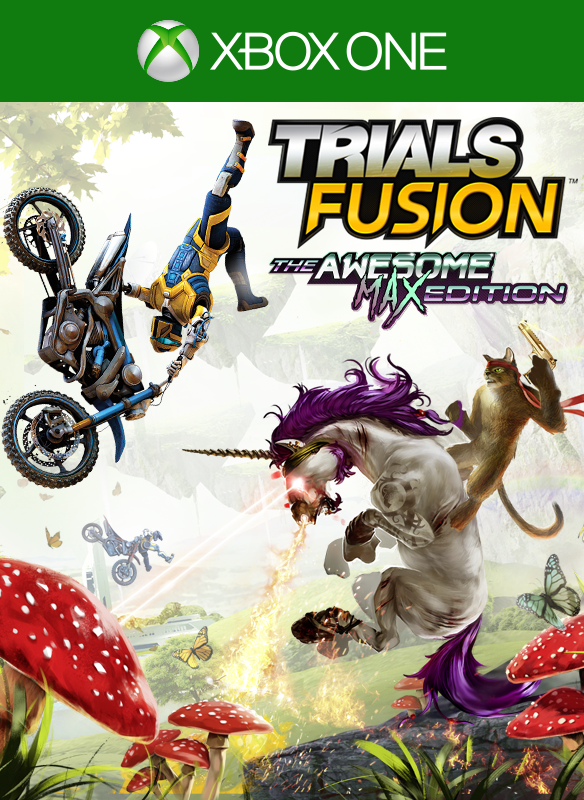 Trials Fusion: The Awesome Max Edition boxshot