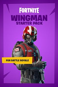 Carátula del juego Fortnite Battle Royale - Wingman Starter Pack