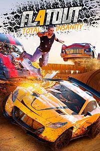 Carátula para el juego FlatOut 4 : Total Insanity de Xbox 360