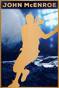 Carátula del juego Tennis World Tour - John McEnroe