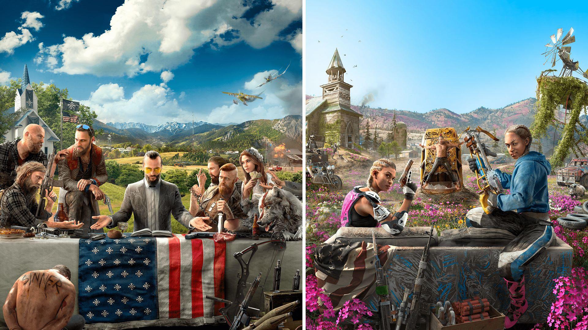 Buy Far Cry® 5 + Far Cry® New Dawn Deluxe Edition Bundle