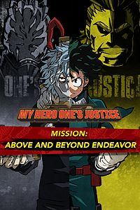 Carátula del juego MY HERO ONE'S JUSTICE Mission: Above and Beyond Endeavor