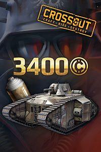 Carátula para el juego Crossout - Iron Shield Pack de Xbox One