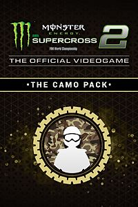 Carátula del juego Monster Energy Supercross 2 - The Camo Pack