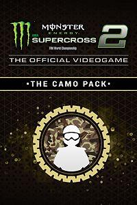 Carátula del juego Monster Energy Supercross 2 - The Camo Pack