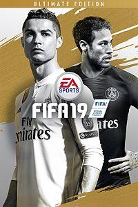 Carátula para el juego FIFA 19 Ultimate Edition de Xbox One