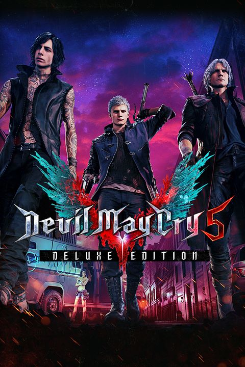 Devil May Cry 5 - Deluxe Edition |  RePack By xatab