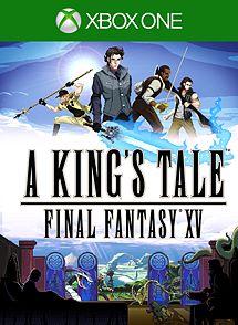 A KING'S TALE: FINAL FANTASY XV imagem da caixa