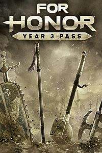 Carátula para el juego For HonorYear 3 Pass de Xbox 360