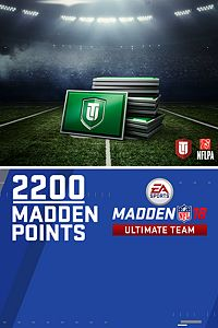 Carátula del juego 2200 Madden NFL 18 Ultimate Team Points